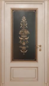 Двери с витражным стеклом