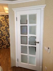 Межкомнатные двери с фацетным стеклом