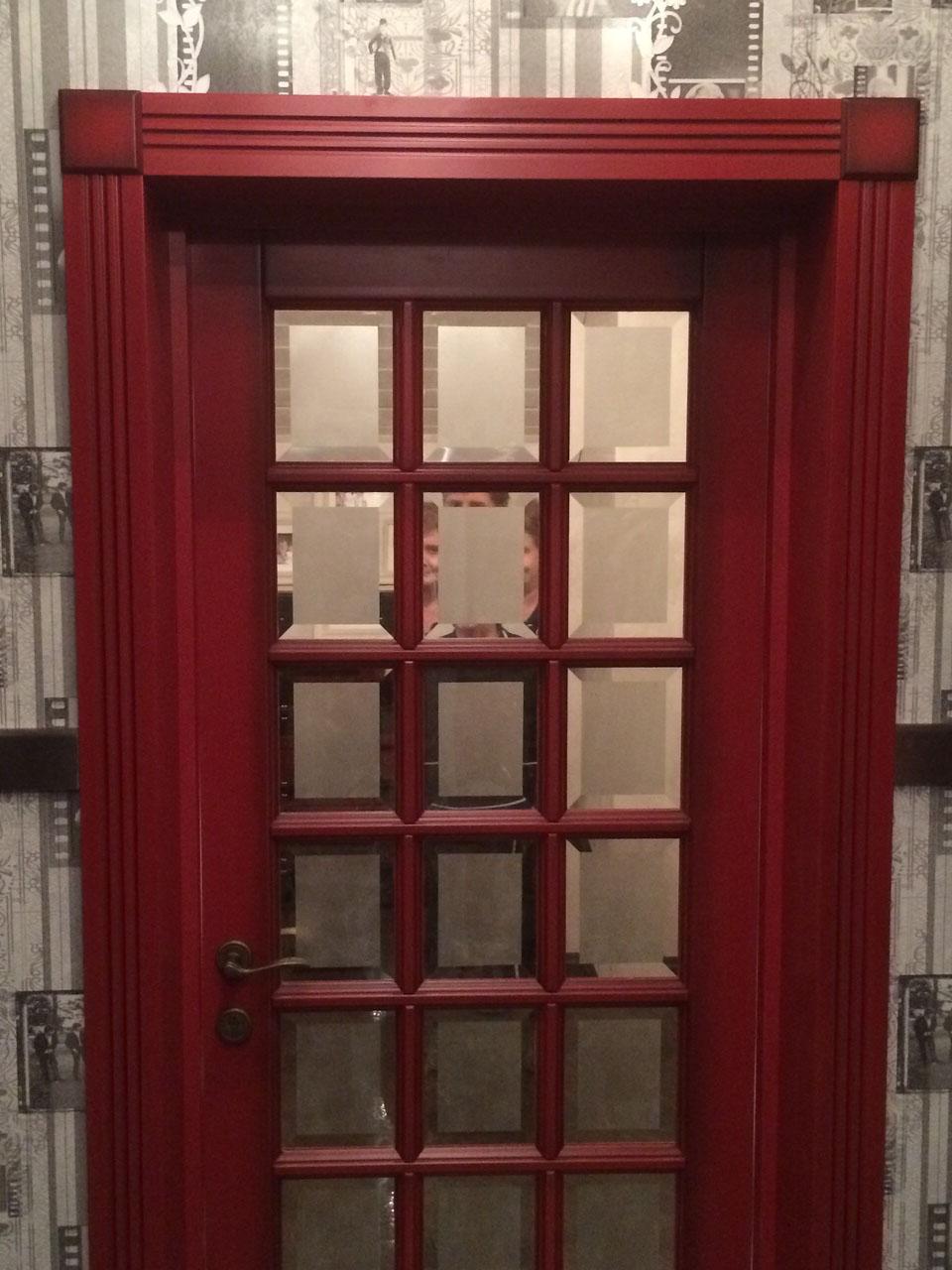 Двери с английской решеткой | Барлетто
