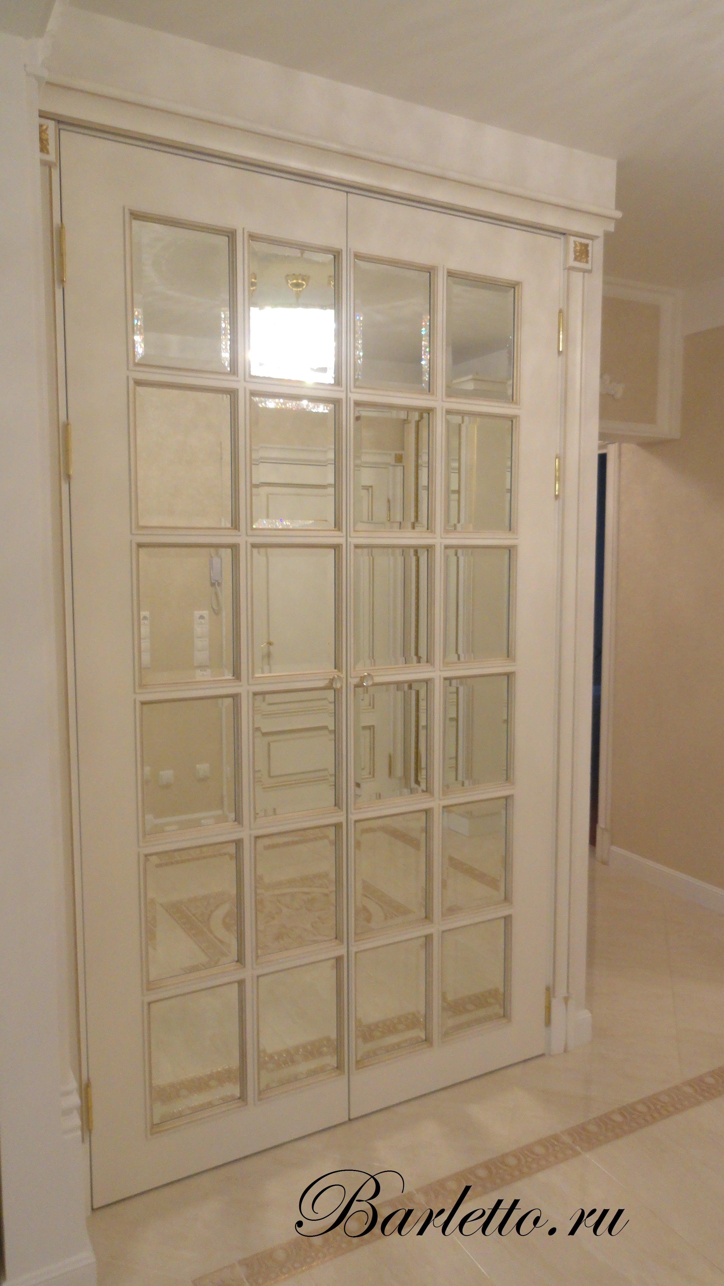 Межкомнатная дверь английская решетка | Барлетто