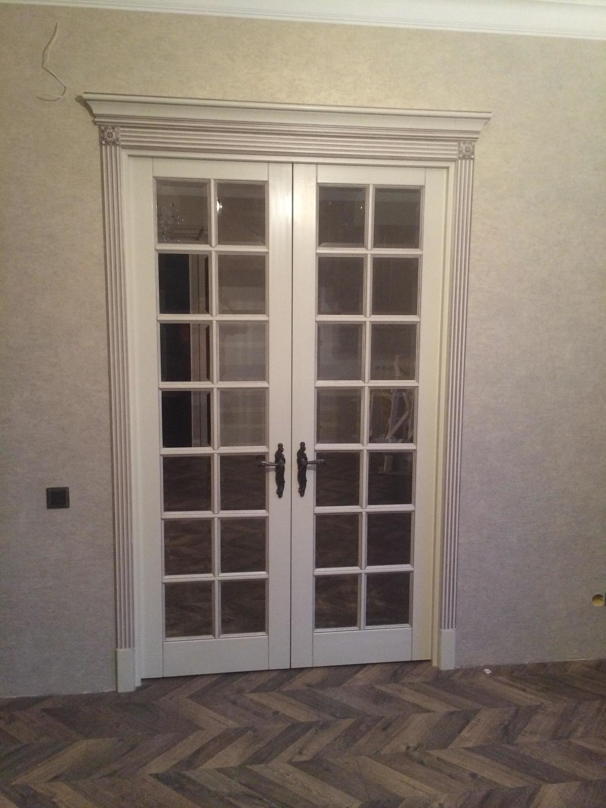 Межкомнатные двери английская решетка на Малой посадской | Барлетто